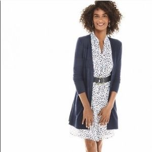 Cabi adorable animal print shirtdress